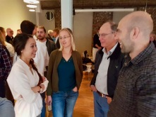 Iselin Halvorsen, Ingrid H. Knudsen, Geir Torsteinson og Anders K.Berntsen